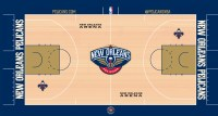 Introducing the New Orleans Pelicans Court