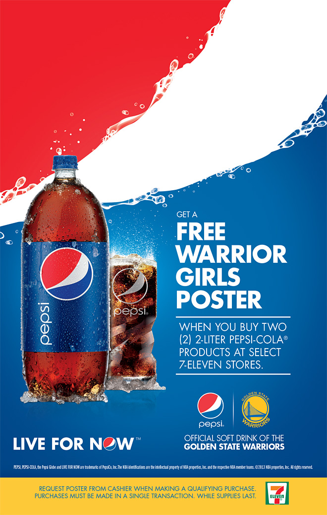 Free Warrior Girls Poster at 7Eleven  THE OFFICIAL SITE