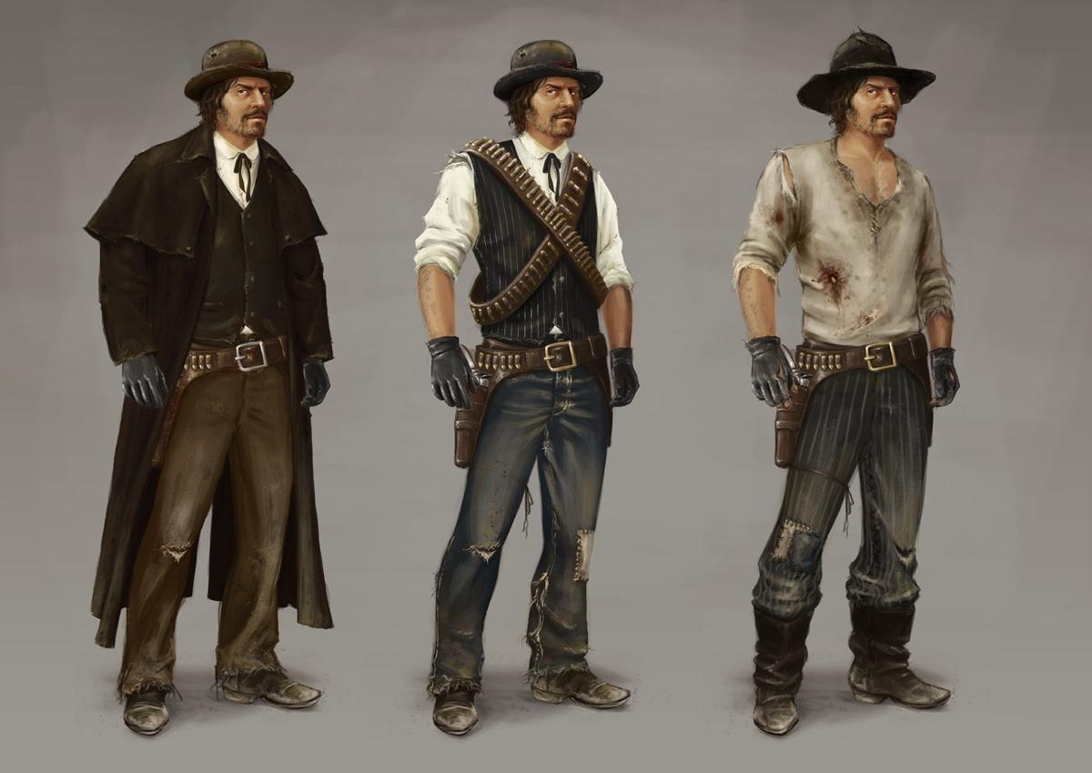 Ezek Az új Red Dead Játék Koncepciórajzai?  Hír Gamestar