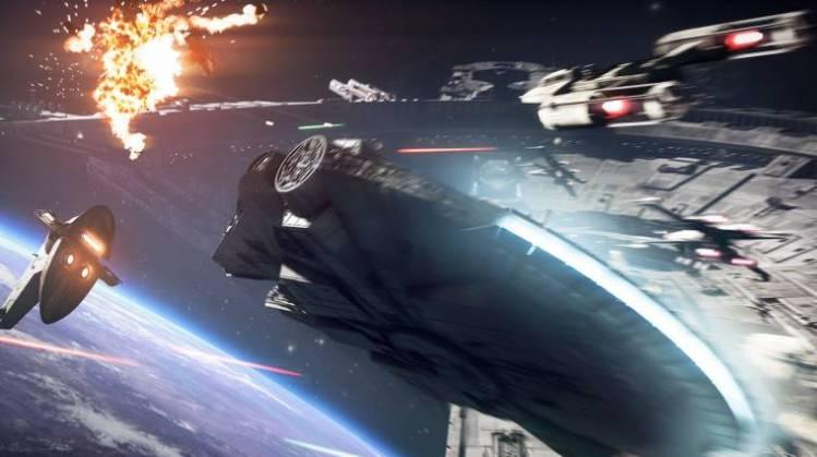 Gamescom 2017 – Bilder der Battlefront 2 Raumschiffe