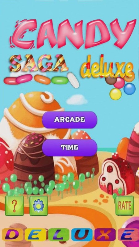 Candy Saga Deluxe APK Free Puzzle Android Game download - Appraw