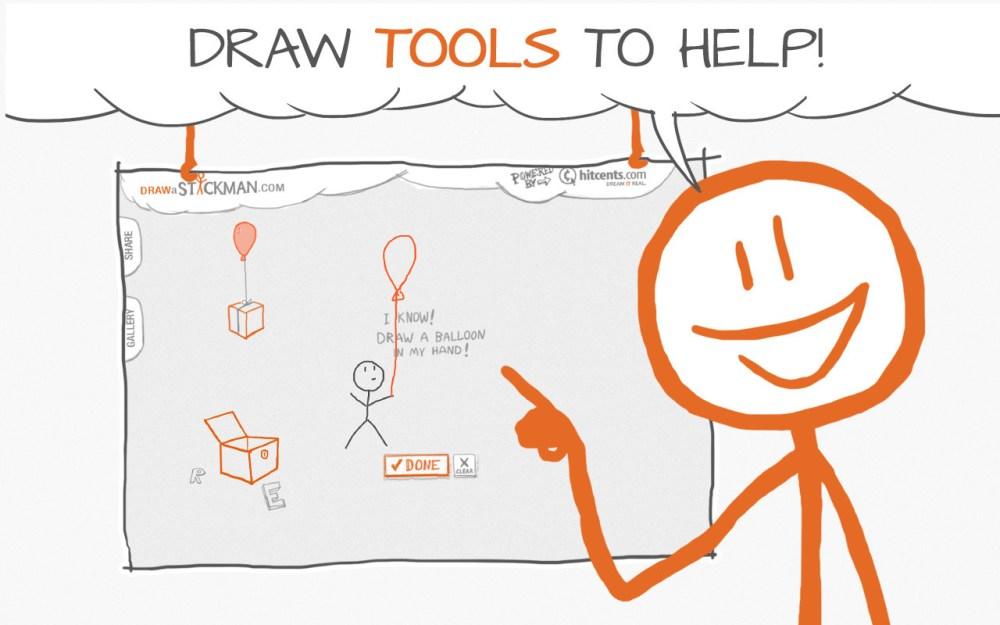 medium resolution of draw a stickman