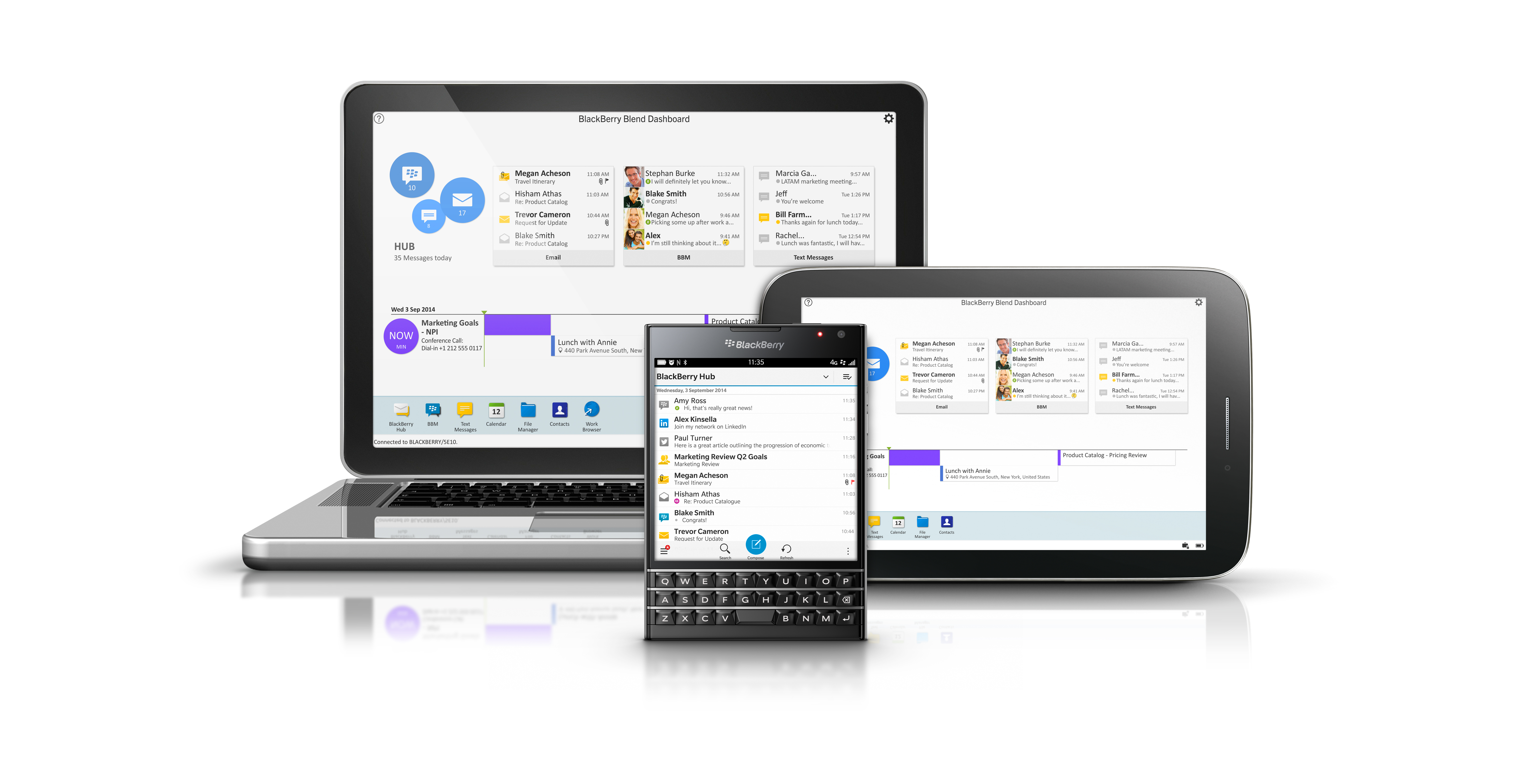BlackBerry 10.3.1 update brings Blend, Assistant and