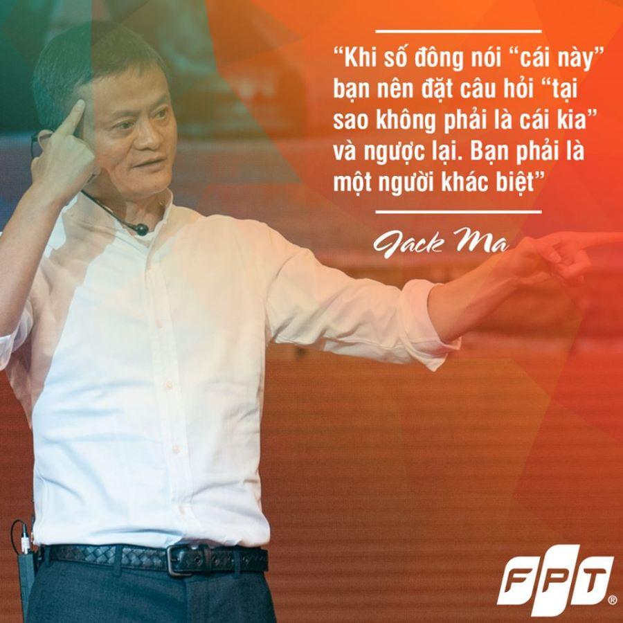 ... truyền cảm hứng. Điểm lại những câu nói ấn tượng nhất của Chủ tịch Alibaba về triết lý kinh doanh cũng như cách dùng người của ông để có được thành công ...