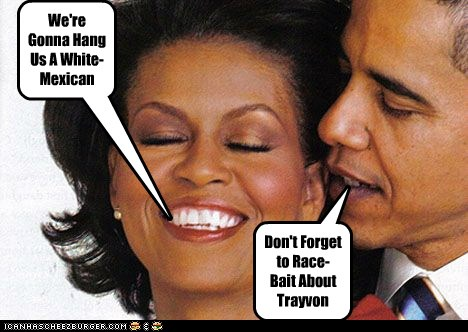 Don't Forget to Race-Bait About Trayvon