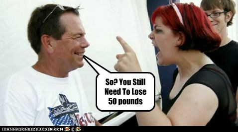 So? You Still Need To Lose 50 pounds