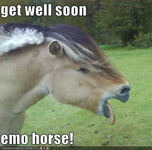 get well soon emo