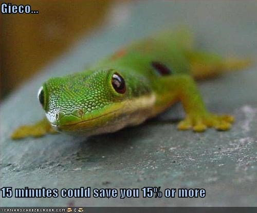 gieco 15 minutes could