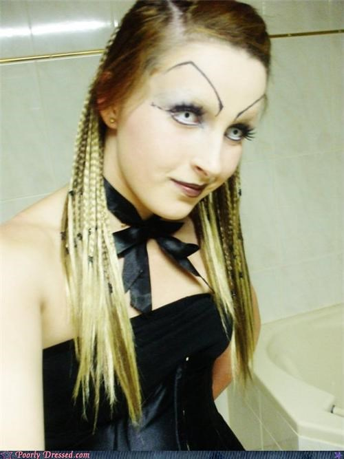 grim reaper eyebrows poorly