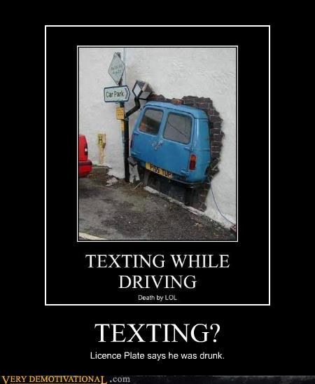Funny Texting Commercial : funny, texting, commercial, TEXTING?, Demotivational, Posters, Funny, Pictures