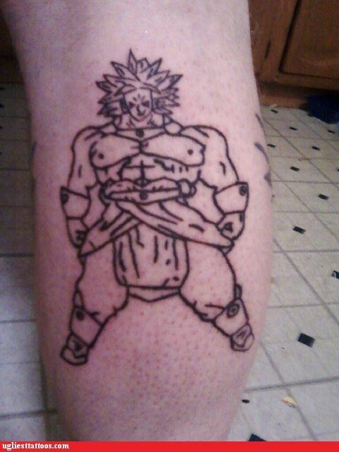 Tattoo De Dragon Ball Z Super