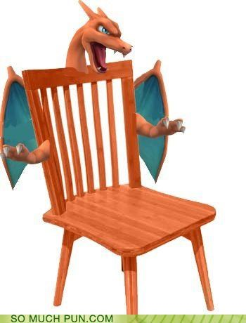 folding chair jokes swivel lazy boy puns funny pun pictures cheezburger char charizard contradiction literalism prefix similar sounding 4955486208