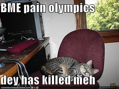 bme pain olympics dey