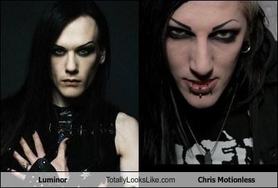 totally looks like goth
