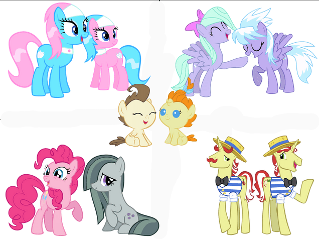 Twins In Friendship Is Magic My Little Brony My Little Pony