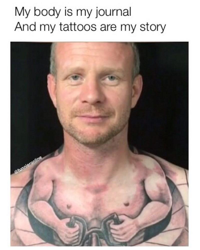 Funny Tattoo Meme : funny, tattoo, Memebase, Funny, Memes