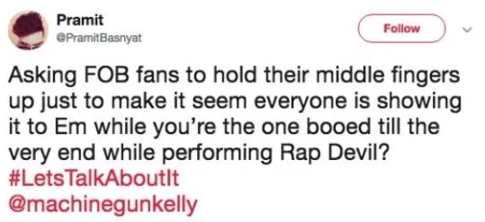 rapper mgk gets roasted