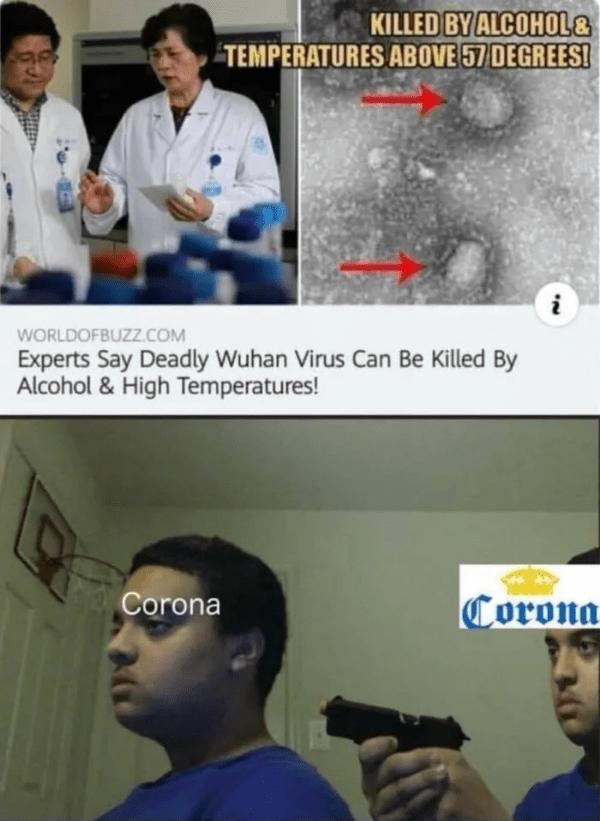 Corona Virus Funny Pics For Memes