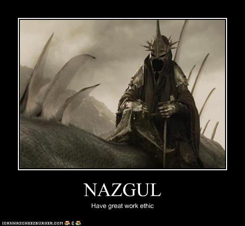 NAZGUL  Cheezburger  Funny Memes  Funny Pictures