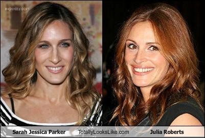 Sarah Jessica Parker Totally Looks Like Julia Roberts