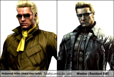 mcdonnell miller male rabbit anatomy diagram metal gear solid totally looks like wesker resident evil