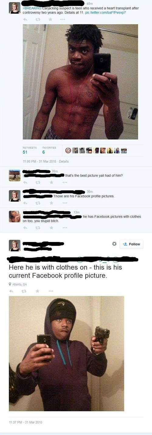 Funny Twitter Profile Pics : funny, twitter, profile, There's, Angle, Alleged, Criminal, Failbook, Failing, Facebook