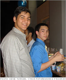 Cody Chang and Jonathon Mohan