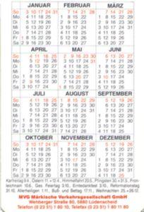 Kalender Tahun 1993 : kalender, tahun, Bûskalinder:, (Dútslân), Märkische, Verkehrsgesellschaft, GmbH), Col:BRD-1993-Bus-001