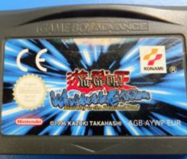 Video Game Catalog Game Boy Advance Yu Gi Oh Worldwide Edition Stairway To The Destined Duel