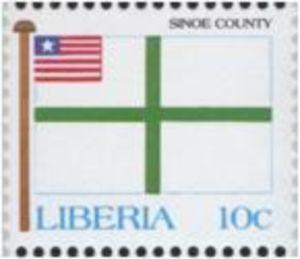 stamp sinoe county liberia