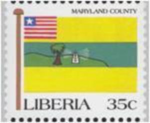 stamp maryland county liberia