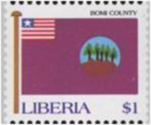 stamp bomi county liberia