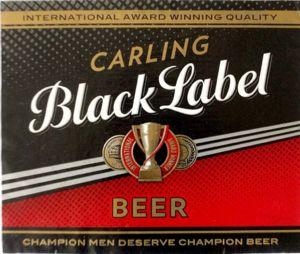 drink label carling black