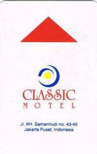 Kartu Kunci Hotel Classic Motel No Chain Indonesia Col