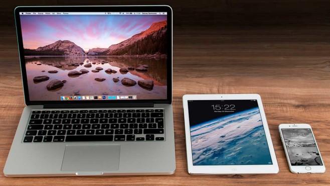MacBook, iPad and iPhone © pixabay