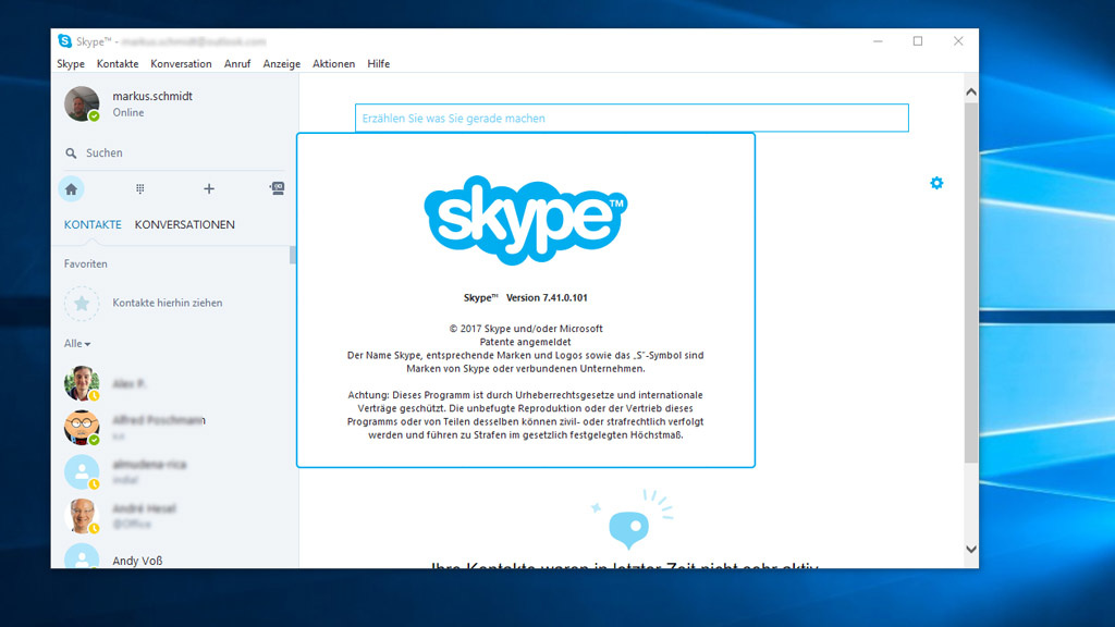 Skype: Desktop-App vor dem Aus? - COMPUTER BILD