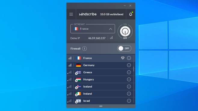 Free VPN: The best free programs for Windows to download © COMPUTER BILD
