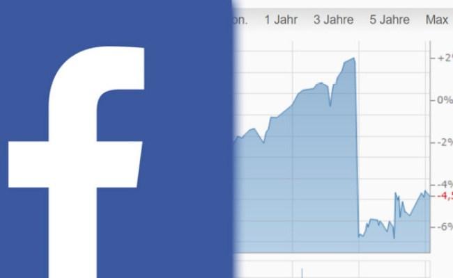 Börsencrash Facebook Aktie Legt Sturzflug Hin Computer Bild