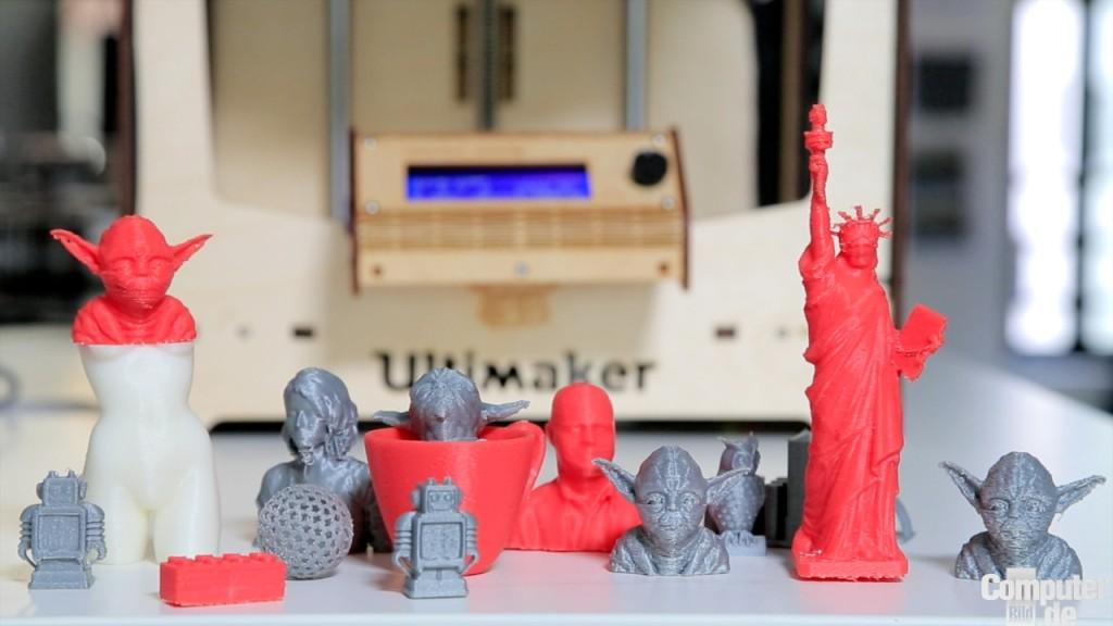 Ultimaker Gegen Freesculpt Test Zweier 3d Drucker