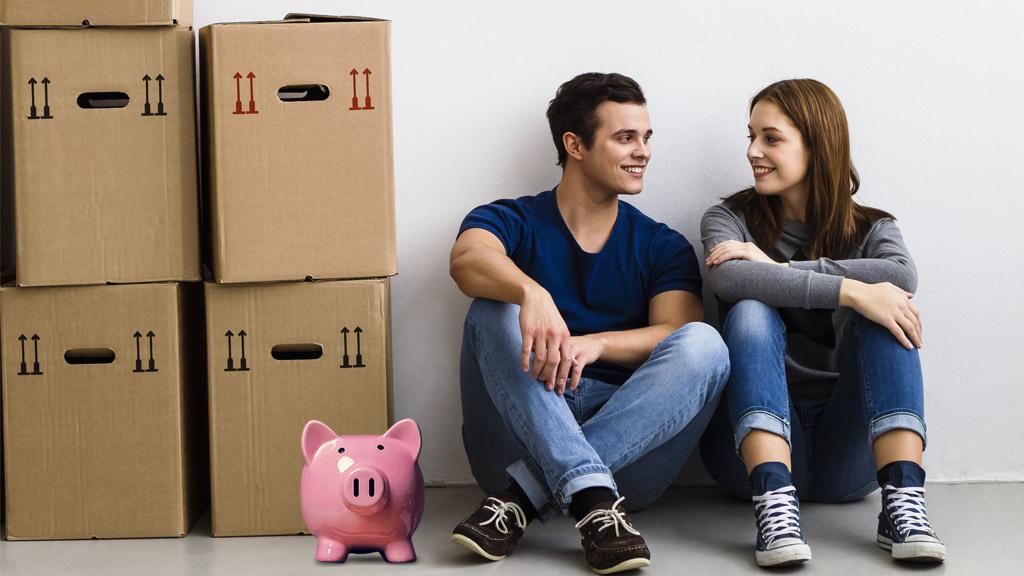 Gemeinsame Wohnung Paare sparen Kosten  COMPUTER BILD