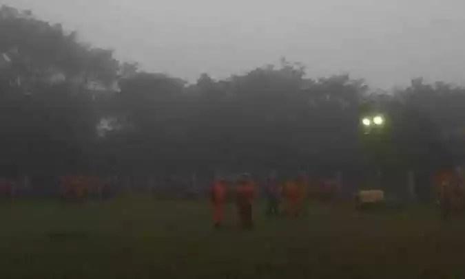 Risco de novo rompimento é iminente(foto: Bombeiros/Divulgação)