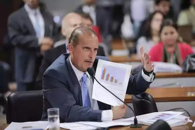Casa Civil: Onyx LorenzoniJefferson Rudy/Agencia Senado