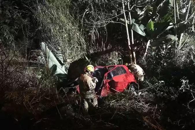 O motorista teria ingerido bebida alcoólica antes de dirigir(foto: CBMDF/Divulgação)