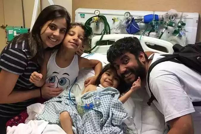 A família precisa de ajuda financeira para custear o tratamento em São Paulo(foto: Arquivo Pessoal)