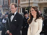 Prince William, The Duke and Catherine the Duchess of Cambridge.