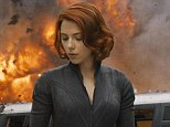 Success: Scarlett Johansson's character of the Black Widow seen in this still from The Avengers, which took in $103.2 million to lead for a second-straight weekend