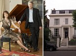 Ross reportedly bought the property in Notting Hill, West London, during the 1993 housing slump for the relatively knock-down price of £950,000