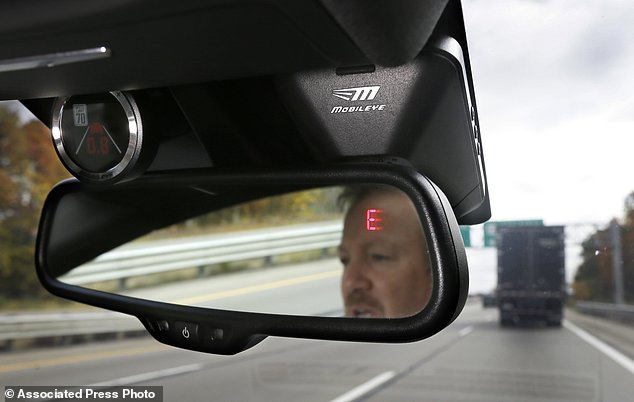 Silicon Valley giant Intel on Wednesday announced plans for a fleet of self-driving cars following its completion of the purchase of Israeli autonomous technology firm Mobileye. A Mobileye camera system that can be installed in your car is pictured