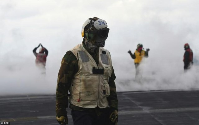 The joint exercises involve tens of thousands of troops, as well as strategic US naval vessels and air force assets