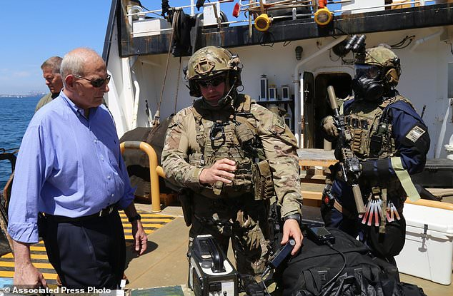 Homeland security secretary says ports a terrorism priority  Daily Mail Online